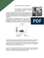 Teoría Del Conductismo Burrhus Frederic Skinner