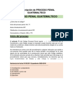 Transcripción de Proceso Penal Guatemalteco