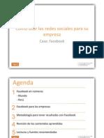 Facebook Empresas Peru