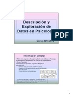 Presentacion DEDP 2014-2015