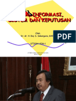 Stikba Keperawatan Sim 2018 1 Informasi & Keputusan 1