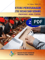 Direktori Perusahaan Industri Besar Dan Sedang Provinsi Jawa Timur 2018
