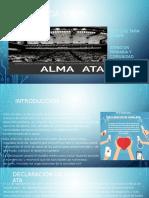 Alma Ata , Atencion Primaria de La Salud
