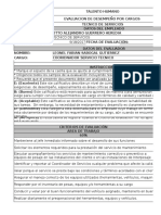 Evaluacion Desempeño Alejandro Guerrero