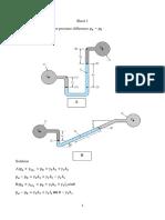Sheet1 Pressure Measurments