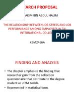 Example of UITM Research Method slide