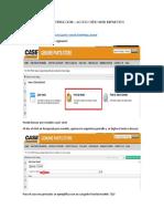 Acceso Sitio Web CASE