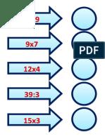Multiplicação e Divisão - Jogando, brincando e aprendendo
