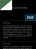 Comunidades Vegetales y Dispersion