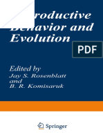 (Evolution, Development, And Organization of Behavior 1) Ernst Mayr (Auth.), Jay S. Rosenblatt, B. R. Komisaruk (Eds.) - Reproductive Behavior and Evolution-Springer US (1977)