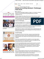 Global Accounting Standard_ Challenges India Faces - Rediff