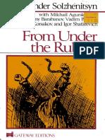 Solzhenitsyn, Aleksandr Isaevich - From Under the Rubble