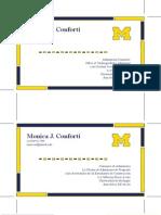 Homework 5 Business Cards