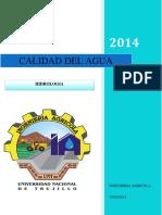 CALIDAD DE AGUA - HIDROLOGIA.docx