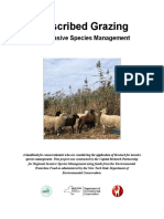 Prescribed Grazing for Invasive Species Management (V 1)