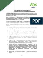 Acuerdo Pp Vox Andalucia