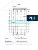 Solución Test Disc - Patron Obejtivo - Almacenero - Percy Vargas
