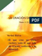 11 Ago 2013 La Oracion de Fe