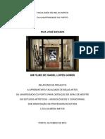 tese sobre José Escada, de Isabel Lopes Gomes (2015)