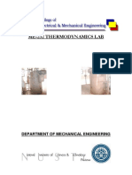 Thermodynamics Lab Manual
