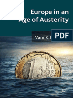 Europe in the age of austerity