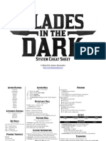 Blades in the Dark Cheat Sheet