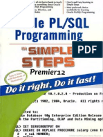 Oracle Pl_Sql Programming in Simple Steps