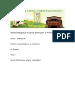 Herramientas Para La Búsqueda y Manejo de La Información Diocelina CadenaS