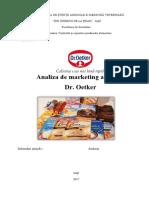 Analiza de Marketing Dr Oetker
