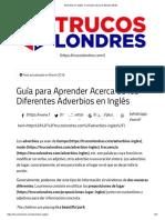 Adverbios en Inglés_ Conócelos (Guía de Estudio 2018)