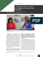 Las políticas de comunicación y género en América latina