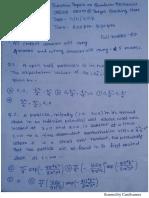 Exam-4 ...Quantum Mechanics