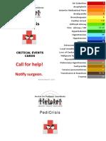 Society for Pediatric Anesthesia Emergency Checklist Manual