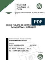Diseño Tablero de Control Electrico Para Sistemas Hidraulicos Alexis Ramirez Garcia