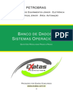 Amostra Petrobras Eng Equipamentos Jr Eletronica Banco Dados Sistemas Operacionais