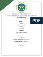 Informe No 2