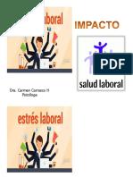 Estres Impacto en La Salud Laboral