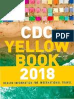 CDC 2018 Information for International Travel