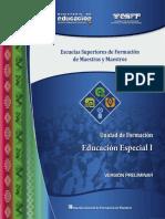 Educacion Especial I