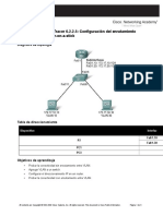 Configuración Del Enrutamiento Entre VLAN Del Router-On-A-stick