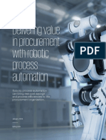 Robotic Process Automation in Procurement