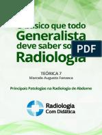 O Basico Que Todo Generalista Deve Saber Sobre Radiologia Parte 7 - Patologia Abdome