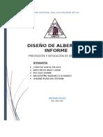 INFORME DISEÑO ALBERGUE