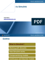 Introduction to Simulink