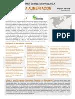 Reporte Nacional EHC Derecho a La Alimentación y Nutrición Diciembre 2018 Español