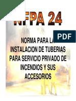 NORMAS DE INSTALACION DE TUBERIAS NFPA 24
