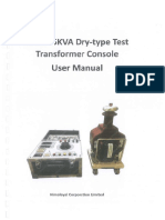 Manual Test Transformer Console