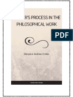Frehers Process in the Philosophical Work - D.a. Freher