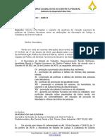 Ofício à Sejus - Fábio Felix (PSol)