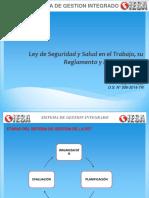 LEY DE SEGURIDAD Y SALUD EN EL TRABAJO Y SUS MODIF..pptx